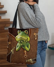 Frog  All-over Tote aos-all-over-tote-lifestyle-front-09