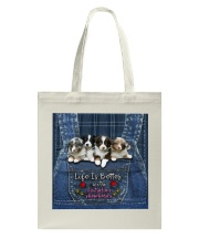 Australian Shepherd Life Is Bettter Tote Bag thumbnail