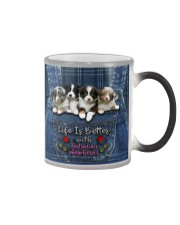Australian Shepherd Life Is Bettter Color Changing Mug thumbnail