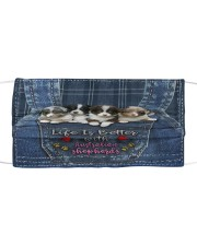 Australian Shepherd Life Is Bettter Cloth face mask thumbnail