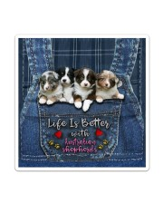 Australian Shepherd Life Is Bettter Sticker - Single (Vertical) thumbnail