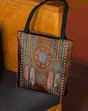 Native Blood Pride Dreamcatcher All-over Tote aos-all-over-tote-lifestyle-front-02