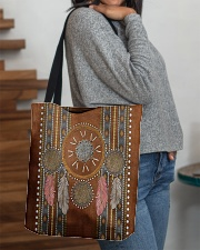 Native Blood Pride Dreamcatcher All-over Tote aos-all-over-tote-lifestyle-front-09