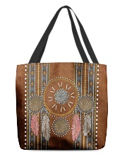 Native Blood Pride Dreamcatcher All-over Tote front