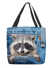 Raccoon Jean All - Over Tote All-over Tote back