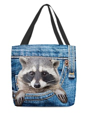 Raccoon Jean All - Over Tote All-over Tote front