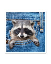 Raccoon Jean All - Over Tote Sticker tile