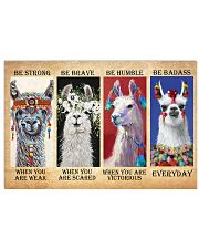 LLama Be Strong 17x11 Poster front