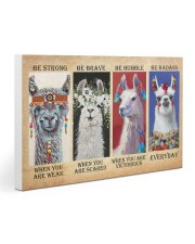 LLama Be Strong Gallery Wrapped Canvas Prints tile