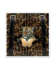Tiger - Leopard - Zip Pocket Sticker tile