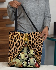 Turtle Funny Leopard All-over Tote All-over Tote aos-all-over-tote-lifestyle-front-10