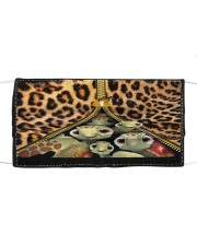 Turtle Funny Leopard All-over Tote Cloth face mask thumbnail