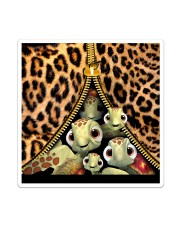 Turtle Funny Leopard All-over Tote Sticker - Single (Vertical) thumbnail