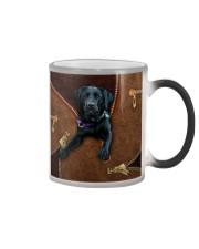 Black Labrador Color Changing Mug tile
