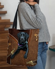 Black Labrador All-over Tote aos-all-over-tote-lifestyle-front-09