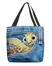 Turtle All- Over Tote All-over Tote back