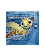 Turtle All- Over Tote Sticker - Single (Vertical) thumbnail