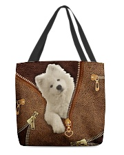 Samoyed   All-over Tote front