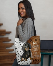 Dachshund Kisses Fix Everything Bag All-over Tote aos-all-over-tote-lifestyle-front-08