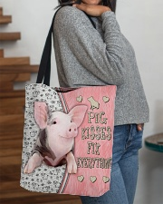 Pig Kisses Fix Everything Bag All-over Tote aos-all-over-tote-lifestyle-front-09
