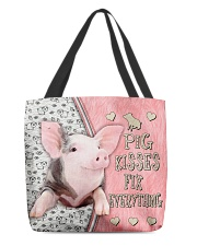 Pig Kisses Fix Everything Bag All-over Tote front