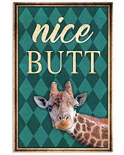 Giraffe Nice Butt 11x17 Poster front