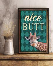 Giraffe Nice Butt 11x17 Poster lifestyle-poster-3
