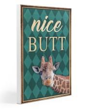 Giraffe Nice Butt 20x30 Gallery Wrapped Canvas Prints thumbnail