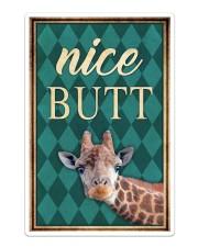 Giraffe Nice Butt Sticker - Single (Vertical) thumbnail