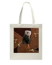 Ferret  Tote Bag tile
