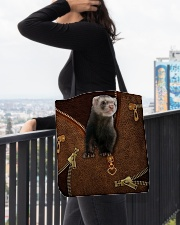 Ferret  All-over Tote aos-all-over-tote-lifestyle-front-05