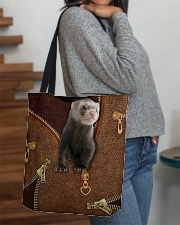 Ferret  All-over Tote aos-all-over-tote-lifestyle-front-09