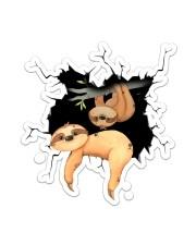 Sloth Crack V2 Sticker - Single (Vertical) front