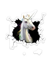 Unicorn Crack Sticker - Single (Vertical) front