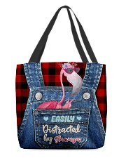Flamingo All-over Tote All-over Tote back