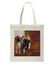 Boxer Lady Tote Bag tile