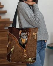 Doberman  All-over Tote aos-all-over-tote-lifestyle-front-09