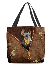 Doberman  All-over Tote front