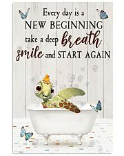 Turtle - Every Day Is New Beginning 11x17 Poster front