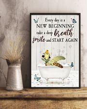 Turtle - Every Day Is New Beginning 11x17 Poster lifestyle-poster-3