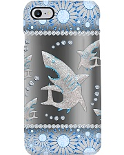 Shark - Blue Phonecase Phone Case i-phone-8-case