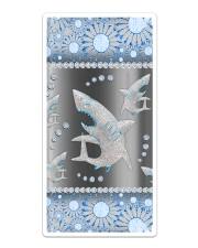 Shark - Blue Phonecase Sticker tile