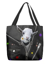 Goat - Zip - All Tote All-over Tote front