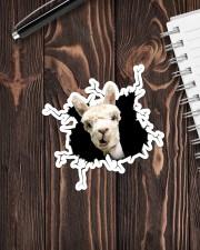 Llama Crack Sticker - Single (Vertical) aos-sticker-single-vertical-lifestyle-front-05