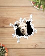 Llama Crack Sticker - Single (Vertical) aos-sticker-single-vertical-lifestyle-front-07