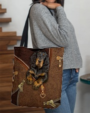 Gordon Setter  All-over Tote aos-all-over-tote-lifestyle-front-09