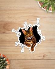 Bengal Cat Crack Sticker - Single (Vertical) aos-sticker-single-vertical-lifestyle-front-07