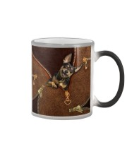 Miniature Pinscher  Color Changing Mug tile