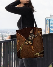 Miniature Pinscher  All-over Tote aos-all-over-tote-lifestyle-front-05