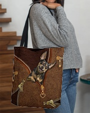 Miniature Pinscher  All-over Tote aos-all-over-tote-lifestyle-front-09